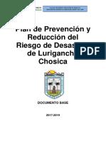 Plan de  Prevencion y Reducción de Riesgo de Lurigancho-Chosica 2017-2019