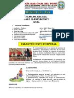 EDUCACIÓN FÍSICA PRIMER AÑO - ALDAIR
