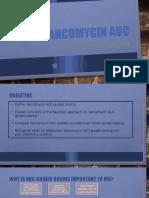 vancomycin auc with answers 1