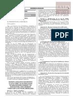 Decreto Legislativo N.º 1469
