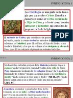 CRISTOLOGIA 01 INTRODUCCION
