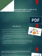 Cultura organizațională și rolul ei în dezvoltarea IMM-urilor