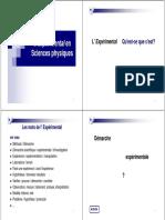 UE-SPC-Experimental-2009