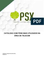 PSX - Apostila / Catalogo com itens mais utilizados na área de Telecom - versão 4