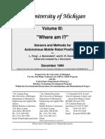Sensors and Methods for Autonomous Mobile Robot Positioning