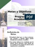 METAS Y OBJETIVOS WEBOPA