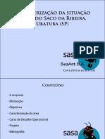 proposta de caracterização da situação atual do Saco da Ribeira, Ubatuba (SP)