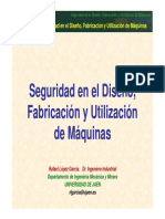 SEGURIDAD DE MÁQUINAS