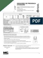 Tecnico - Portugues - Sensor de presenca standard
