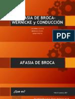 AFASIA DE BROCA, WERNICKE, CONDUCCIÓN (1)