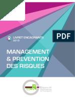 LIVRET ENCADRANTS 2015 - MANAGEMENT & PREVENTION DES RISQUES