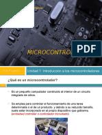 Introducción a microcontroladores