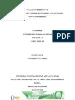 Unidad 1 Fase 2  Implementar métodos para evaluación del proyecto sostenible