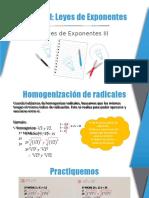 Leyes de Exponentes 3 - 2do de Sec. (1)