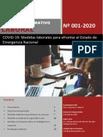 Boletín Laboral N° 001-2020