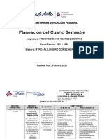 Planeacion produccion de textos 2020 cuarto semestre lep