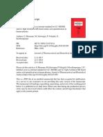 Amino acid quantification in human plasma