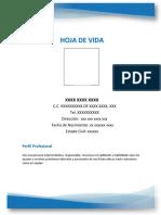 MODELO HOJA DE VIDA 1