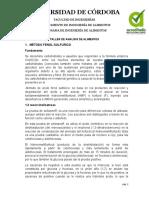 TALLER DE ANALISIS DE ALIMENTOS