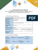 Guía de actividades y rúbrica de evaluación - Fase 2 - Funciones y Usos de la Música
