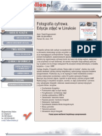 Fotografia cyfrowa Edycja zdjec w Linuksie.pdf