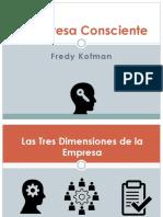 Empresa consciente - kofman