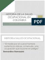 HISTORIA DE LA SALUD OCUPACIONAL EN