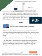 Quiénes son los _intelectuales_ que firmaron con Macri la solicitada contra el gobierno por el coronavirus