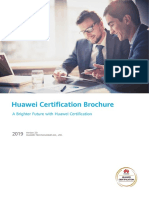 Huawei Certification Brochure V3