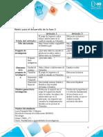 Anexo 2 - Matriz para el desarrollo de la fase 3 Luisa Fernanda Niño