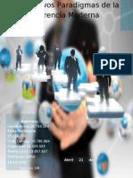 Los Nuevos Paradigmas de la Gerencia Moderna-Relaciones Publicas II-1M-