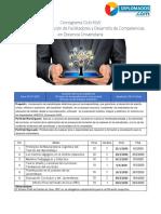 DFFDCDU Cronograma y Programa Sinóptico 12 semanas Ciclo 47