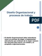 Diseño organizacional y proceso de.....