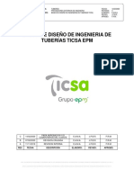 Bases Diseño Ingenieria Tuberias TICSA