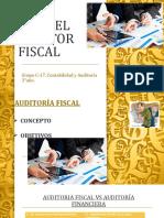 ROL DE AUDITORIA FISCAL
