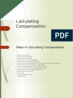 Calculating Compensation