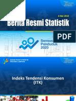 Paparan Indeks Tendensi Konsumen Lampung TW-1 2019