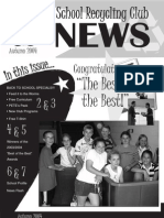Fall 2004 New Hamshire School Recycling Club Newsletter