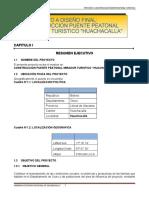 Teoria Pasarela Peatonal Huachacalla