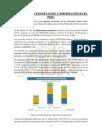 EXPORTACIONES E IMPORTACIONES EN EL PAIS