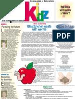 Blast kitchen waste with worms - Newspaper in Educaton