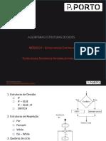AED-Modulo 2.2 Estruturas de controlo