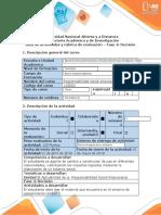 Guía de actividades y rúbrica de evaluación- Fase 4 Decisión