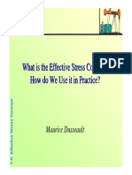.What is the Effective Stress Concept. How do We Use it in Practice
