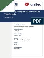 Tarea 8 Ley de regulación de precios de transferencia