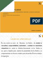 MF SEMANA 2 -VISCOSIDAD, COMPRESIBILIDAD Y MODULO DE  ELESTACIIDAD VOLUMETRICO.pdf