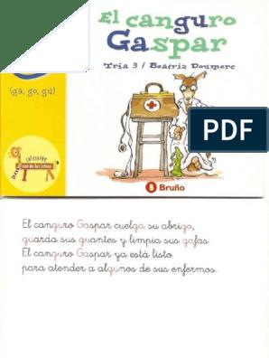 El Zoo De Las Letras El Canguro Gaspar 0 Pdf
