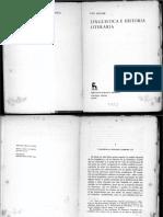 lingüística y historia literaria Leo Spitzer