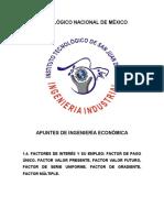 1.4. FACTORES DE INTERÉS Y SU EMPLEO
