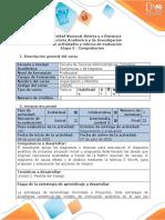 Guia de Actividades y Rubrica de Evaluacion Etapa 3-Comprobacion